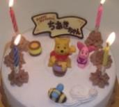 ♪♪♪誕生日ケーキ♪♪♪