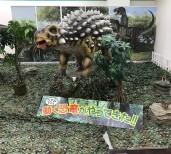 アピタ向山店に恐竜が出現!!!